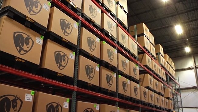 and image of the big ass solutions warehouse