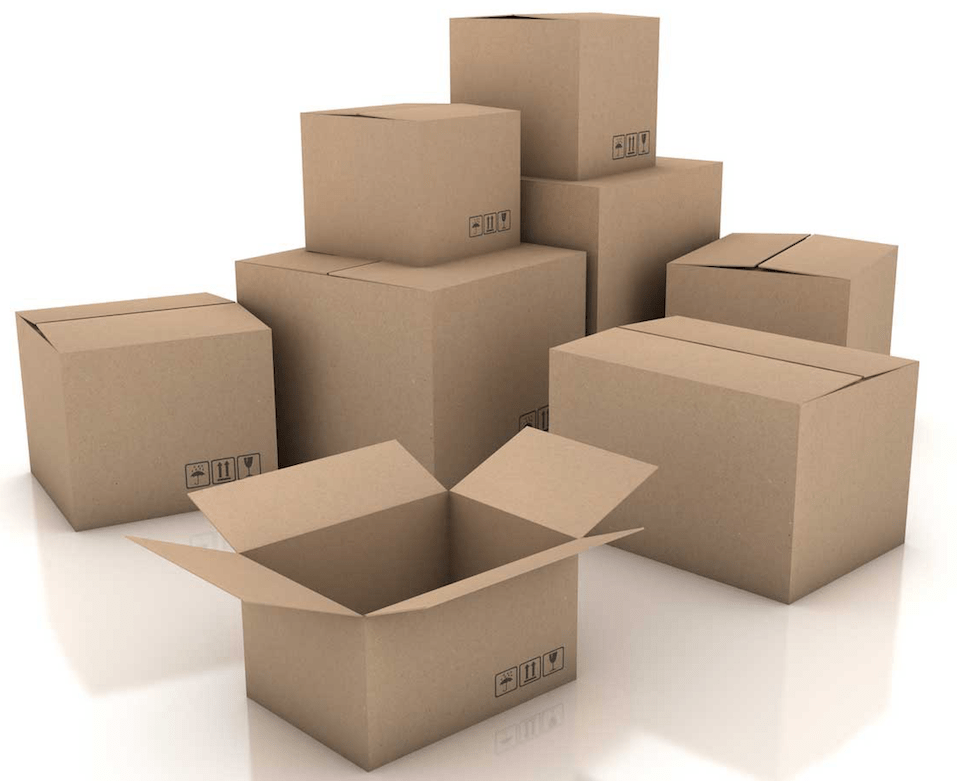 a picture of a stack of boxes with one open and seemingly empty to signify accurate order fulfillment is required for success.
