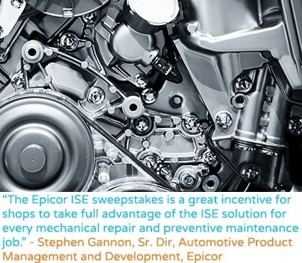 an image of the epicor erp integrator service estimator promotional flyer