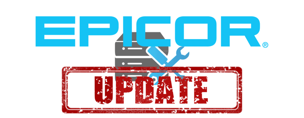 Epicor ERP Software Update