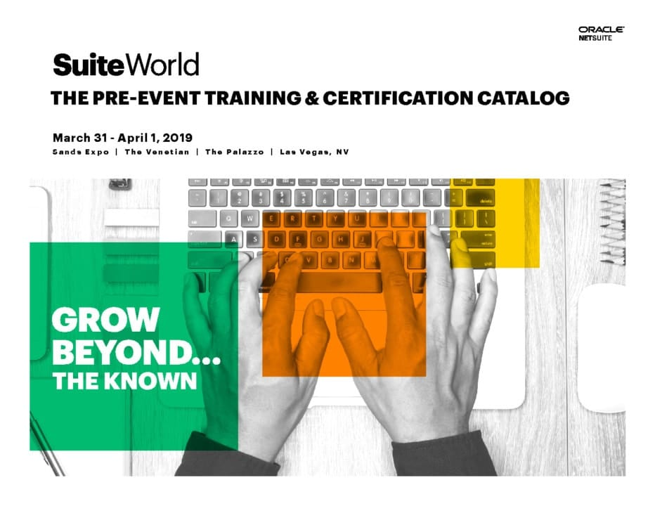 SuiteWorld 2019 | Sands Hotel and Casino April 1-4