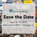 an image of the automate 2019 announcement, where encompass solutions will deliver an automation and robotics presentation to attendees