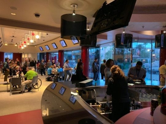 an imag eof the customer appreciation mingle at insights 2019