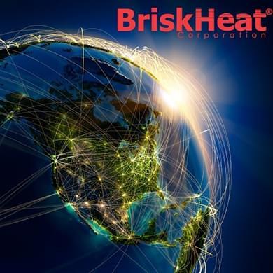 an image of the briskheat logo