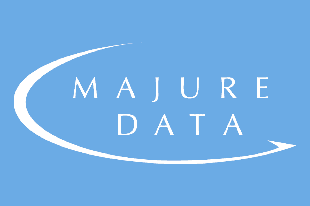 an image of the majure data logo