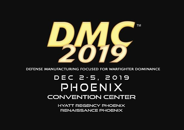The DMC 2019 trade show and conference logo
