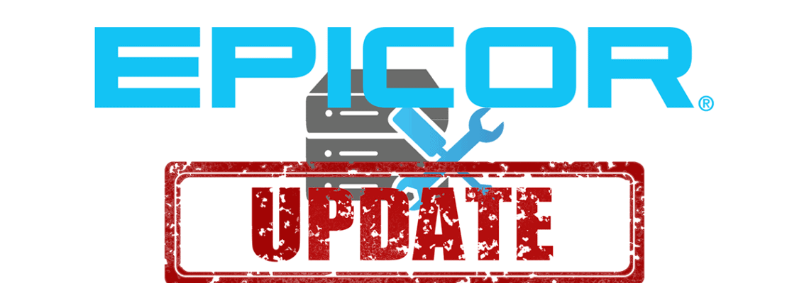 an image of the epicor update logo indicating there is currently an epicor costing issue alert