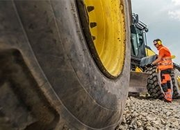 an image of heavy equipment rental management with Epicor Prophet 21 ERP for distributors