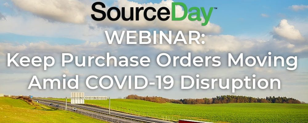 an image of webinar sourceday covid-19 supply chain disruption