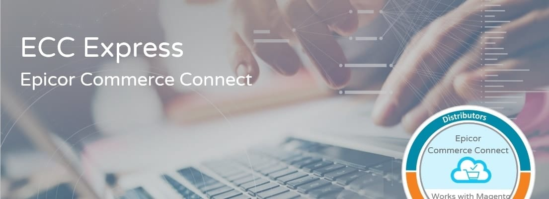 an aimge of the Epicor Commerce Connect ECC ecommerce solution for manufacturers