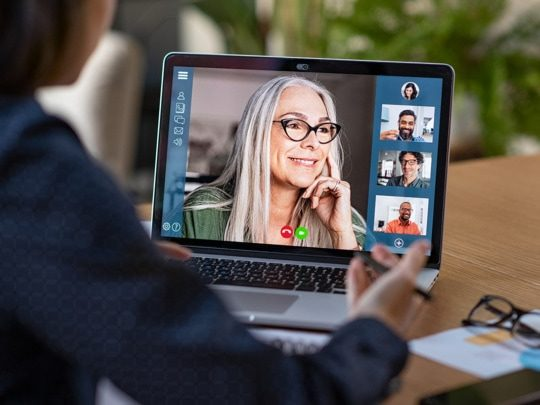 an aimage of how multiple generations come together in a changing workplace
