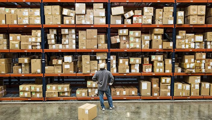 an example of storage in inventory managmeent and warehouse management