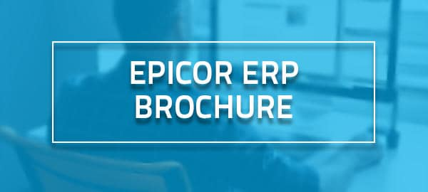 The Epicor ERP brochure banner image for our resource directory