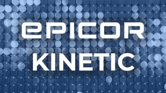 Epicor Kinetic 2021.1 upgrade banner