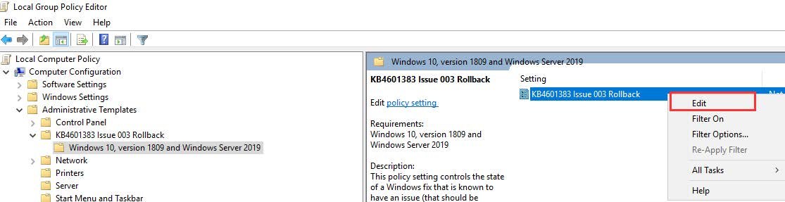 Epicor Preview Microsoft Fix Step 8a