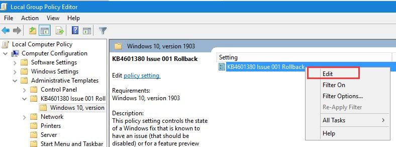 Epicor Preview Microsoft Fix Step 8b