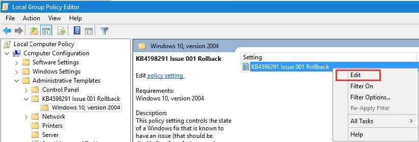 Epicor Preview Microsoft Fix Step 8c