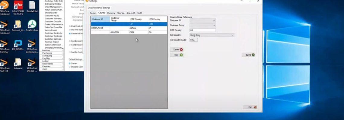 entrust edi automation demo recording