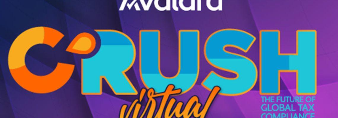 Avalara CRUSH Virtual Event Logo